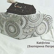 Аксессуары handmade. Livemaster - original item The girdle is white.. Handmade.