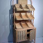 Для дома и интерьера ручной работы. Ярмарка Мастеров - ручная работа Стеллаж для магазинов. Handmade.