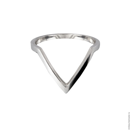 Кольца ручной работы. Ярмарка Мастеров - ручная работа. Купить Кольцо на вторую фалангу из серебра 925 пробы. Handmade. Кольцо