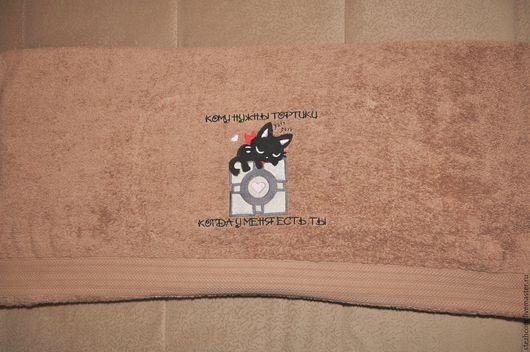 Персональные подарки ручной работы. Ярмарка Мастеров - ручная работа. Купить Именные полотенца (на день рожденья, юбилей, свадьбу, годовщину). Handmade.
