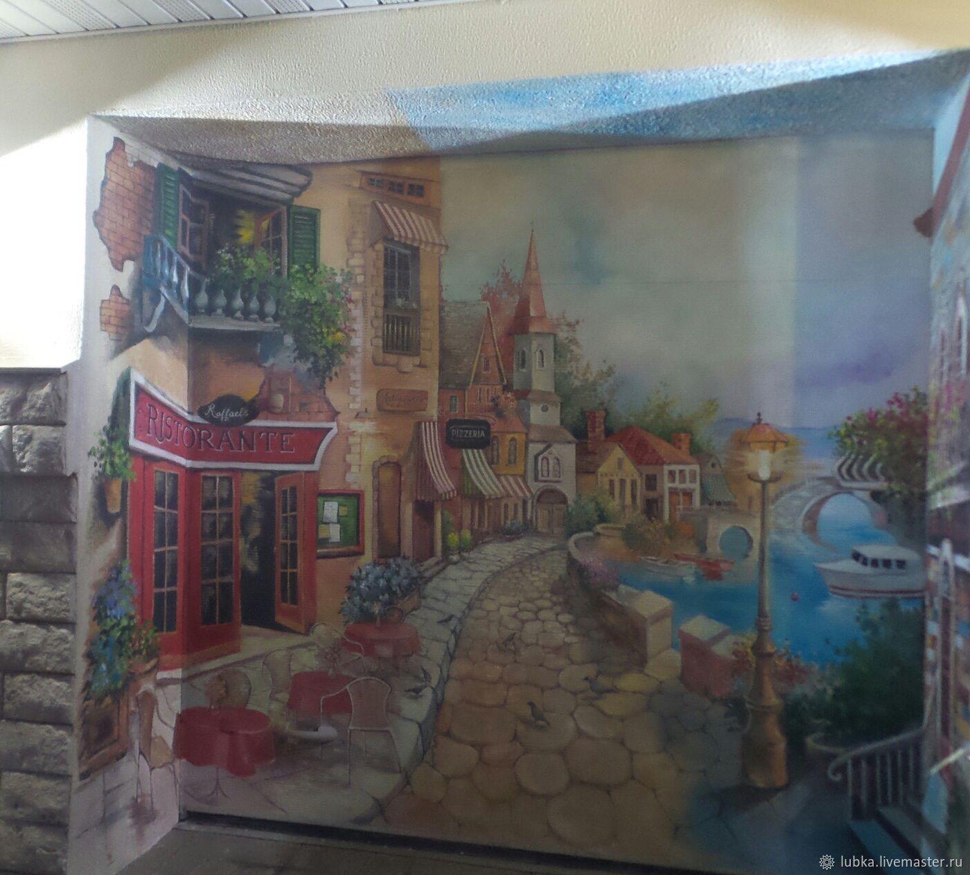 Роспись гаражных ворот, Декор, Москва, Фото №1