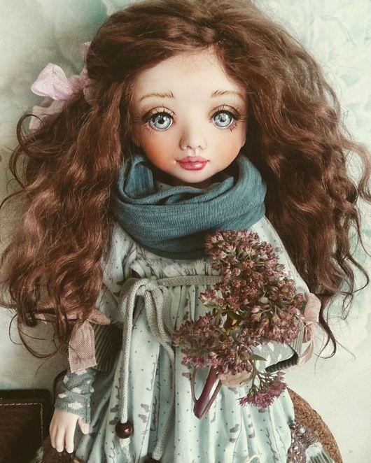 Коллекционные куклы ручной работы. Ярмарка Мастеров - ручная работа. Купить Наталия. Handmade. Кукла, авторская кукла, хлопок