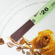 Материалы для флористики ручной работы. Ярмарка Мастеров - ручная работа Проволока флористическая (коричневая) №26. Handmade.