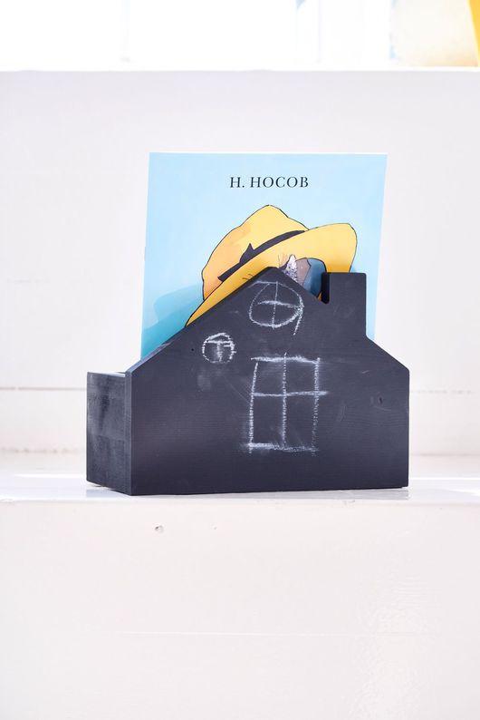 Детская ручной работы. Ярмарка Мастеров - ручная работа. Купить Полка - ящик дом. Handmade. Полка, детская комната, сосна