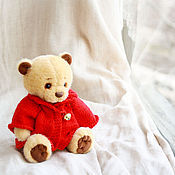 Куклы и игрушки ручной работы. Ярмарка Мастеров - ручная работа Кнопочка (17 см). Handmade.