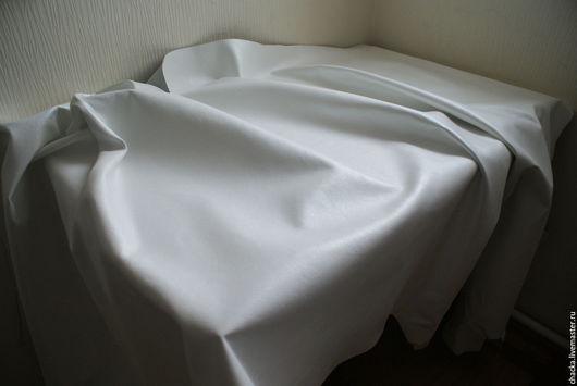Шитье ручной работы. Ярмарка Мастеров - ручная работа. Купить Натуральная кожа 1-1,2мм. Белый перламутр. Handmade.