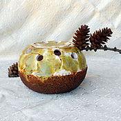 Цветы и флористика handmade. Livemaster - original item Vase floral Silk and tweed. Handmade.