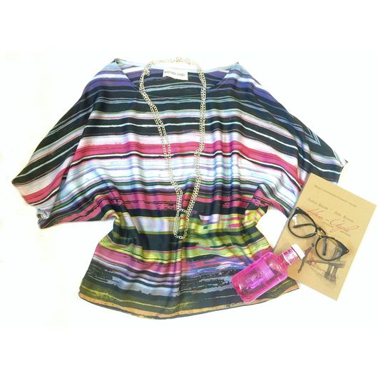 """Блузки ручной работы. Ярмарка Мастеров - ручная работа. Купить Шелковая блуза """"Жасмин"""". Handmade. Блуза из шелка, шелковая блузка"""