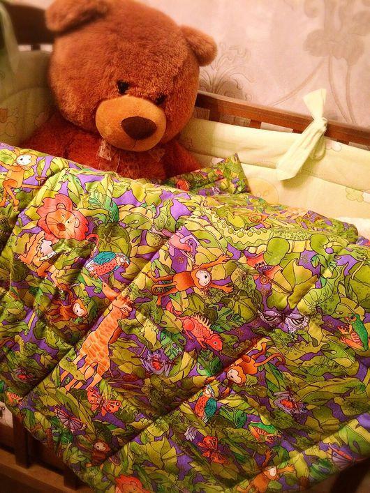 """Пледы и одеяла ручной работы. Ярмарка Мастеров - ручная работа. Купить Стёганое одеяло - плед """" Солнечное утро"""". Handmade."""