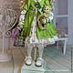 Коллекционные куклы ручной работы. Василиса .Кукла авторская текстильная .Кукла ручной работы .. Кукольные нежности от Ариши. Ярмарка Мастеров.