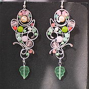 Украшения handmade. Livemaster - original item Earrings, Presentiment of Spring ( option ). Handmade.
