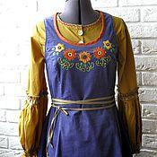 Одежда handmade. Livemaster - original item Sundress in ethnic style. Handmade.
