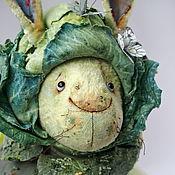 Куклы и игрушки ручной работы. Ярмарка Мастеров - ручная работа Заяц Капусткин. Handmade.