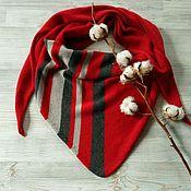 Аксессуары handmade. Livemaster - original item 100% cashmere Loro Piana bactus scarf. Handmade.
