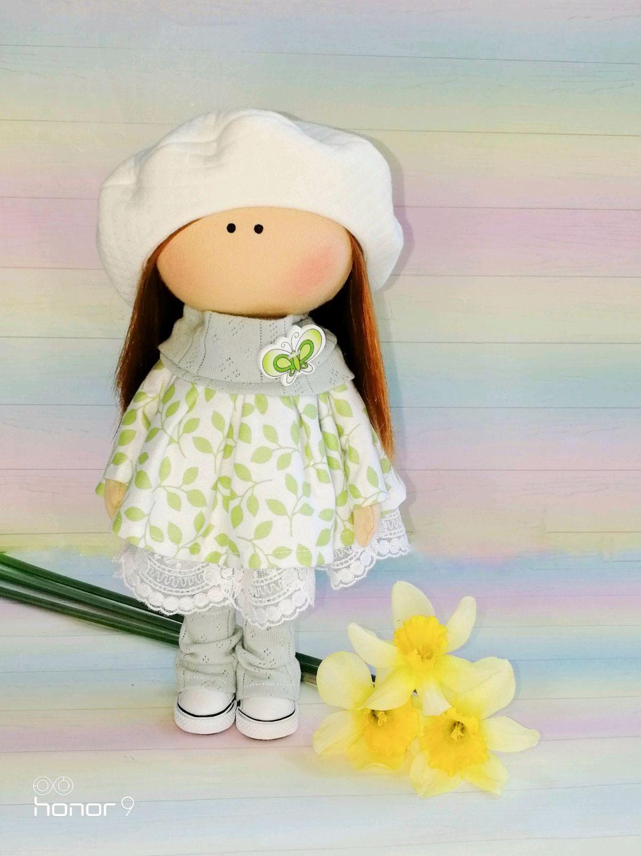 Текстильная интерьерная кукла тыквоголовка, Тыквоголовка, Усть-Лабинск,  Фото №1