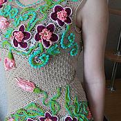 Одежда ручной работы. Ярмарка Мастеров - ручная работа Топ Тюльпановый рай. Handmade.