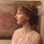 Одежда ручной работы. Ярмарка Мастеров - ручная работа Gatsby платье и украшение на голову. Handmade.