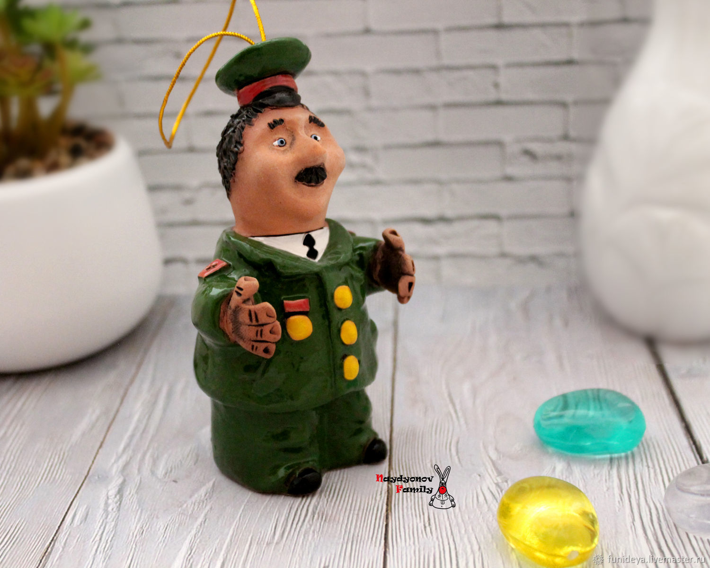 General, ceramic bell, Kolokolchiki, Vladimir,  Фото №1