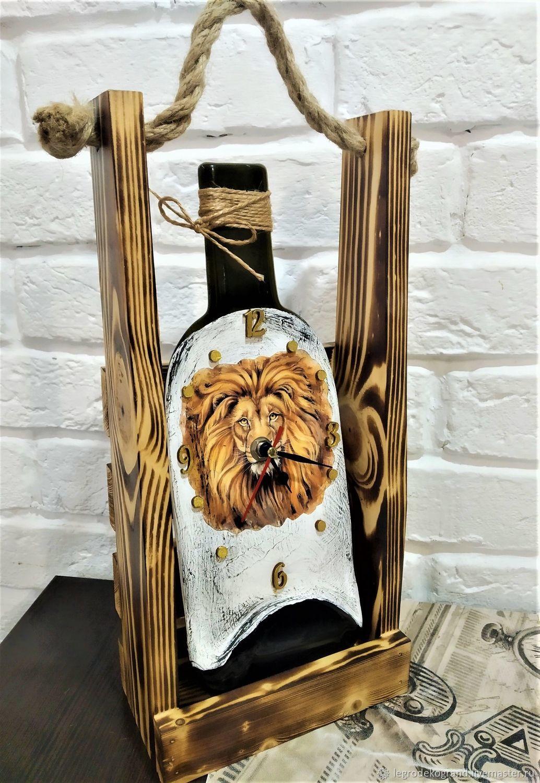Часы Лев настольные в подарочном ящике, Часы классические, Тольятти,  Фото №1