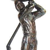 """Посуда ручной работы. Ярмарка Мастеров - ручная работа Бокалы """"ГОЛЬФ"""", набор из двух, подарок для гольфиста. См. описание.. Handmade."""