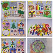 Куклы и игрушки ручной работы. Ярмарка Мастеров - ручная работа Развивающие планшеты. Handmade.