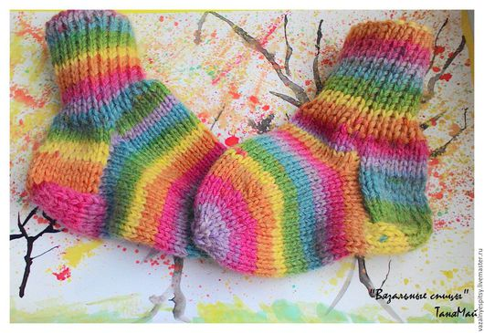 Осенне-зимние носочки для детей от 1- 2лет. Тёплые, лёгкие и яркие.