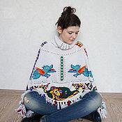"Одежда handmade. Livemaster - original item Poncho ""Mosaico Duomo Ravello"". Handmade."