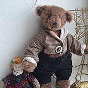 Мишки Тедди ручной работы. Ярмарка Мастеров - ручная работа Мишки Тедди: Генри. Handmade.