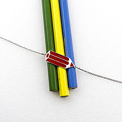 Украшения handmade. Livemaster - original item Bracelets: Pencil. Handmade.