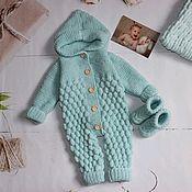 Одежда детская handmade. Livemaster - original item Jumpsuit for girls. Romper baby.. Handmade.