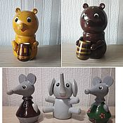 Подарки к праздникам handmade. Livemaster - original item Toys for children and bells. Handmade.