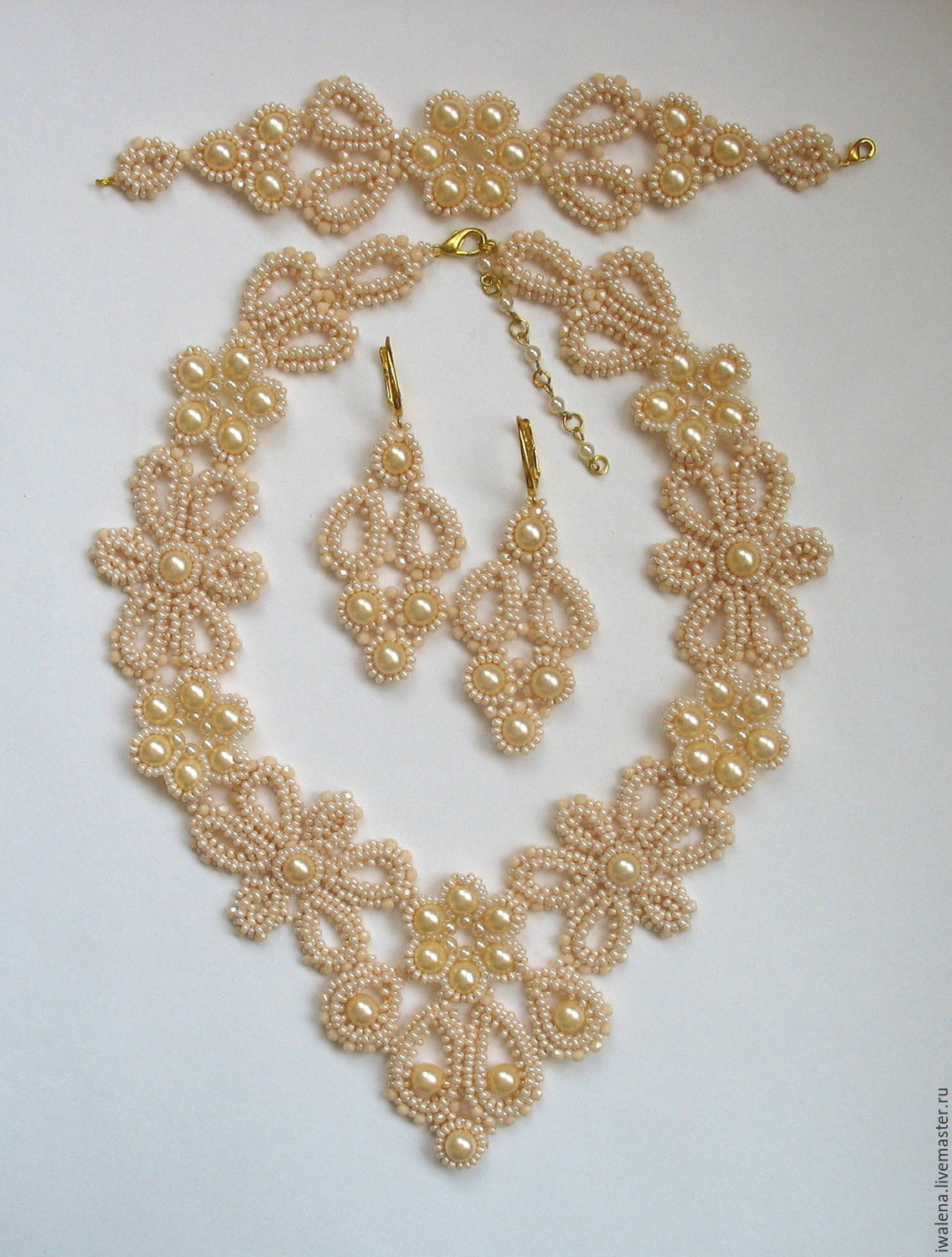 """A complete set is """"Magic of Lace"""", Jewelry Sets, St. Petersburg, Фото №1"""