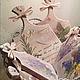 Дощечки декоративные `Прованс` 12 см и 17 см