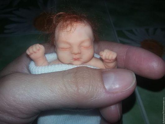 """Куклы-младенцы и reborn ручной работы. Ярмарка Мастеров - ручная работа. Купить """"Рыжик"""" малышка из полимерной глины. Handmade. Малыш"""