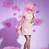 Одежда ручной работы. Ярмарка Мастеров - ручная работа Платье в розах. Скидка 30%. Handmade.