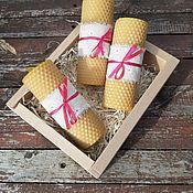 Сувениры и подарки handmade. Livemaster - original item Gift set of candles for any occasion. Handmade.