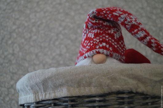 Коллекционные куклы ручной работы. Ярмарка Мастеров - ручная работа. Купить Гном. Handmade. Ярко-красный, сказка, подарок, фетр