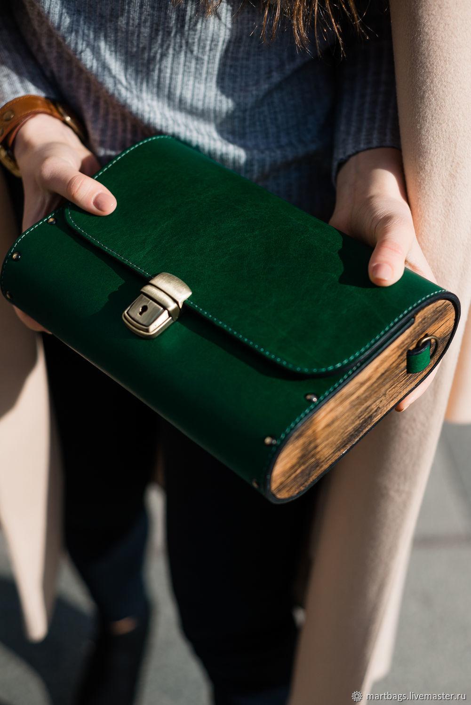 4133722a6031 Кожаная сумка Big Green – купить в интернет-магазине на Ярмарке ...