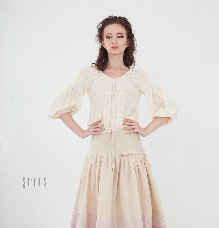 Россия льняные платья купить