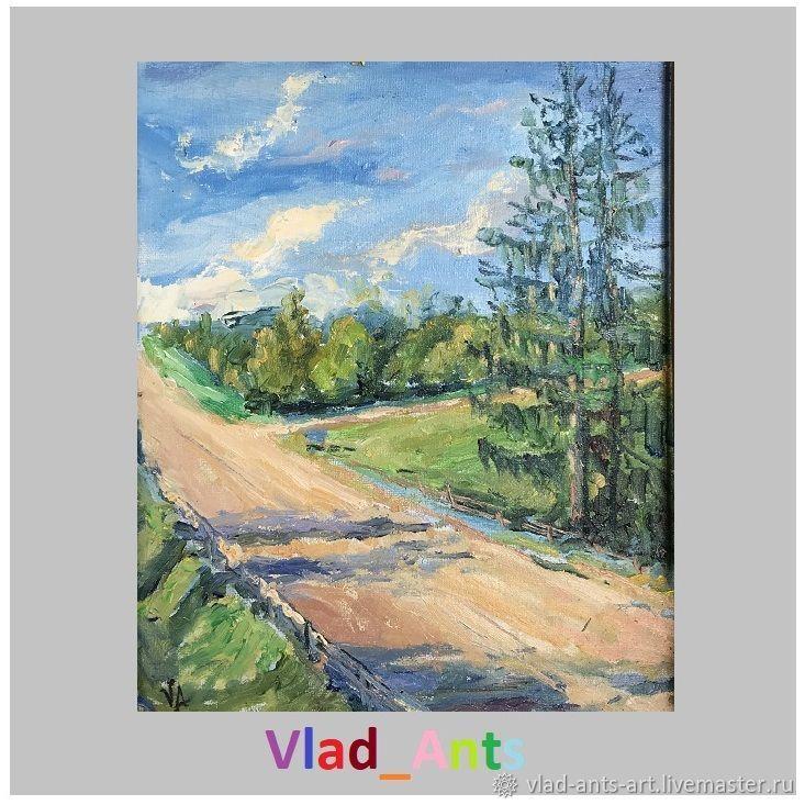 Две ели у дороги, Картины, Москва,  Фото №1