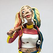 Куклы и игрушки ручной работы. Ярмарка Мастеров - ручная работа харли квинн. Handmade.