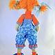 Коллекционные куклы ручной работы. Заказать Кукла текстильная Варвара. KhmelevaOlga. Ярмарка Мастеров. Куклы, авторская кукла, хлопок, трикотаж