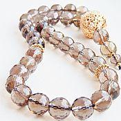 Фен-шуй и эзотерика handmade. Livemaster - original item Beads of Topaz. Handmade.