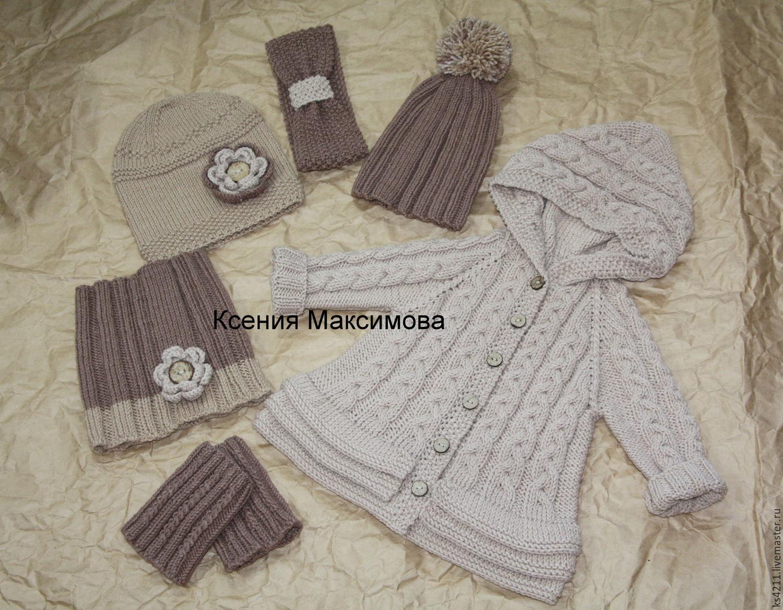 Milena cardigan hat leg warmers Snood headband, Sweater Jackets, Novokuznetsk,  Фото №1