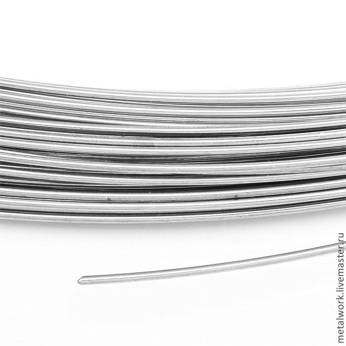 Припой серебряный в проволоке 0.8 мм средний, Другие виды рукоделия, Ставрополь, Фото №1