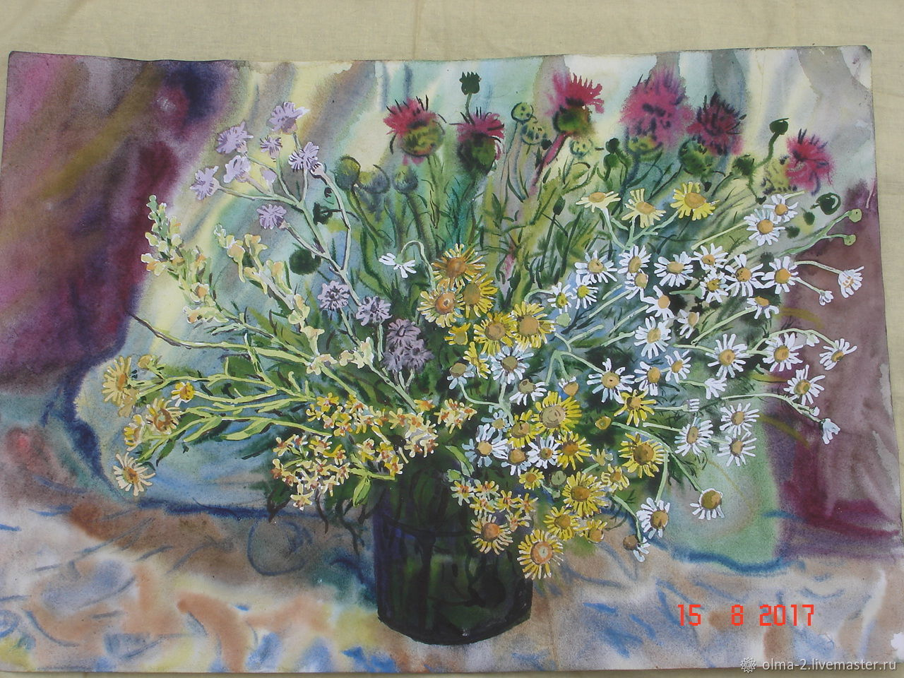 A bouquet of wild flowers, Pictures, Tyumen,  Фото №1