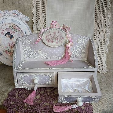 Для дома и интерьера ручной работы. Ярмарка Мастеров - ручная работа Розы шебби. Handmade.