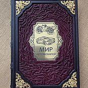 Сувениры и подарки handmade. Livemaster - original item World of cars gift book in leather cover.. Handmade.