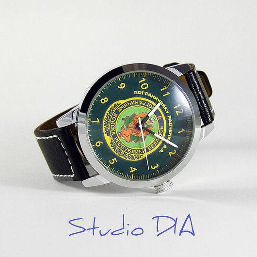 Часы Под Заказ - Пограничник (Военные). Студия Дизайнерских Часов DIA.