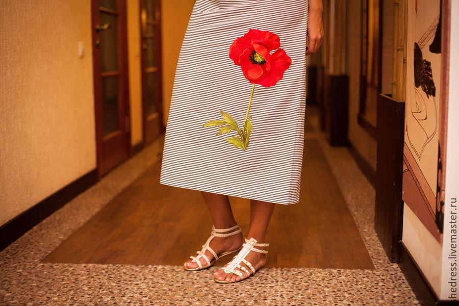Заказать Стильное платье арт.1112. Авторская одежда Ksenya Shishkina. bdc611792e7f3